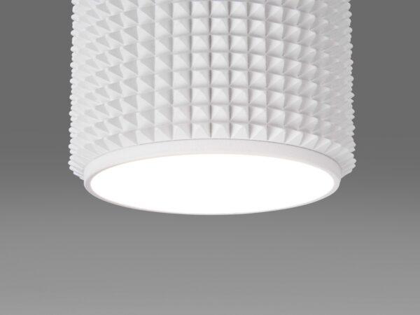 DLN112 GU10 / Светильник накладной белый