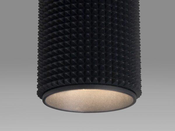 DLN112 GU10 / Светильник накладной черный
