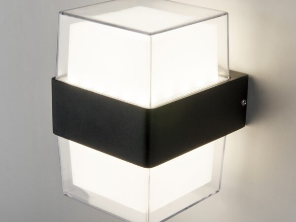 1519 TECHNO LED / Светильник садово-парковый Maul чёрный