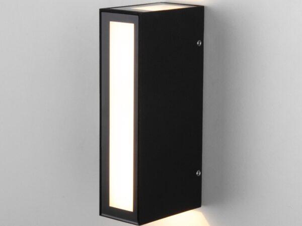 1524 TECHNO LED / Светильник садово-парковый со светодиодами Acrux черный