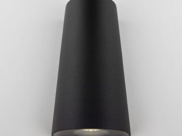 1525 TECHNO LED / Светильник садово-парковый со светодиодами черный