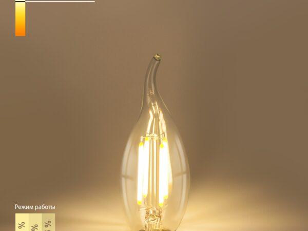 BL159 / Светодиодная лампа Dimmable BL159 5W 4200K E14 (CW35 прозрачный)