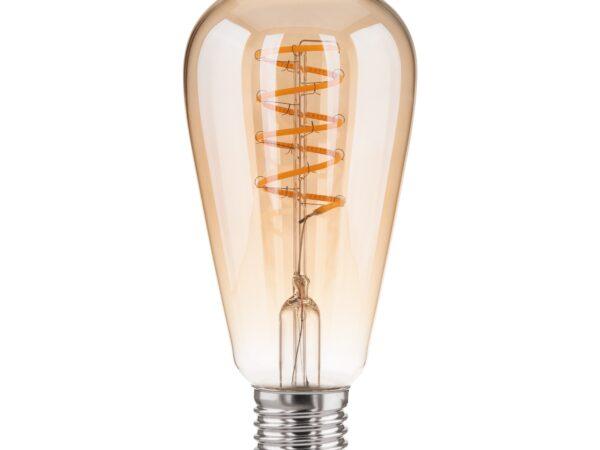 BL160 / Светодиодная лампа Dimmable BL160 5W 2700K E27 (ST64 тонированный)