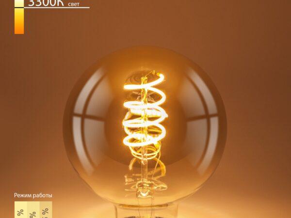BL161 / Светодиодная лампа Dimmable BL161 5W 2700K E27 (G95 тонированный)