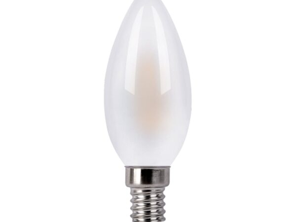 BLE1427/ Светодиодная лампа Свеча 9W 4200K E14 (C35 белый матовый)