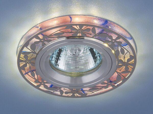 8096 MR16 PK / Светильник встраиваемый розовый