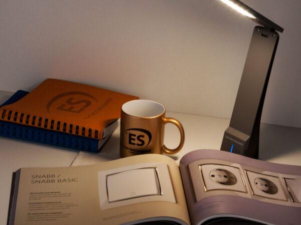 TL90450 / Светильник светодиодный настольный Desk черный/серый