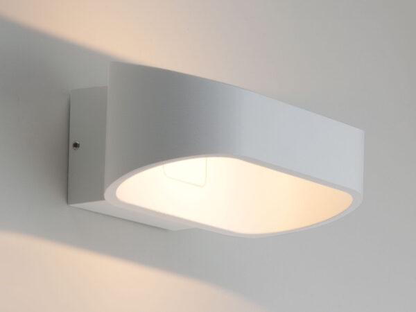 1706 TECHNO LED / Светильник садово-парковый со светодиодами POINT белый