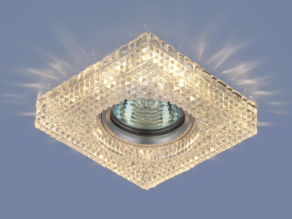 2214 MR16 / Светильник встраиваемый CL прозрачный