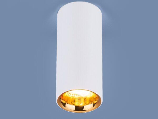 DLR030 12W 4200K / Светильник светодиодный стационарный белый матовый/золото