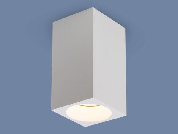 1085 GU10/ Светильник накладной WH белый матовый