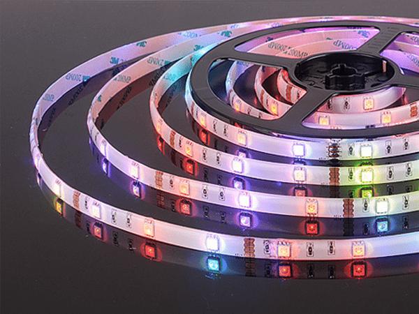Лента светодиодная 30 LED/м, 7,2W, IP65, мультиколор, (5050, 12V, 30 LED/м, 7,2W, IP65)