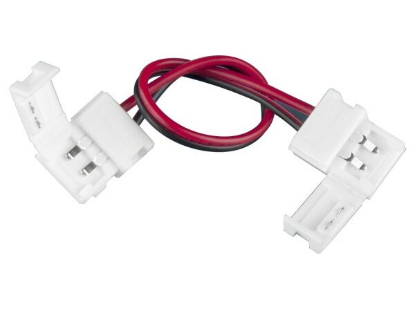 Коннектор для одноцветной светодиодной ленты 3528 гибкий двусторонний / Соединитель электрический (3528, 2835) (10pkt)
