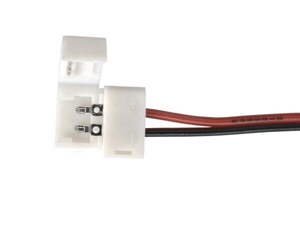 Коннектор для одноцветной светодиодной ленты 3528 гибкий односторонний / Соединитель электрический (3528, 2835) (10pkt)