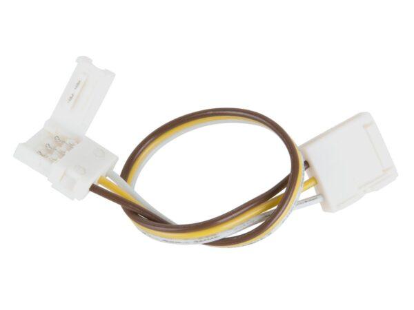 Коннектор для ленты Бегущая волна гибкий двусторонний / Соединитель электрический (10pkt)