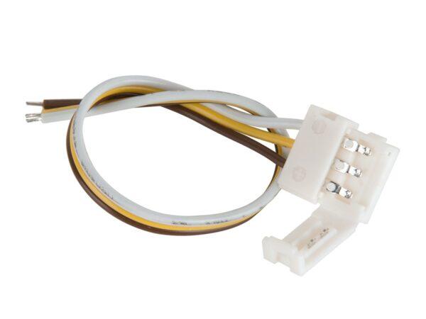 Коннектор для ленты Бегущая волна гибкий односторонний / Соединитель электрический (10pkt)