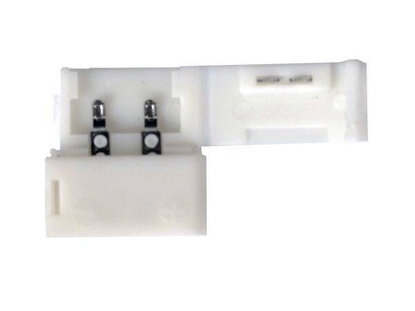 LED 1A / Соединитель электрический Коннектор для одноцветной светодиодной ленты 3528, 2835 жесткий (10pkt)