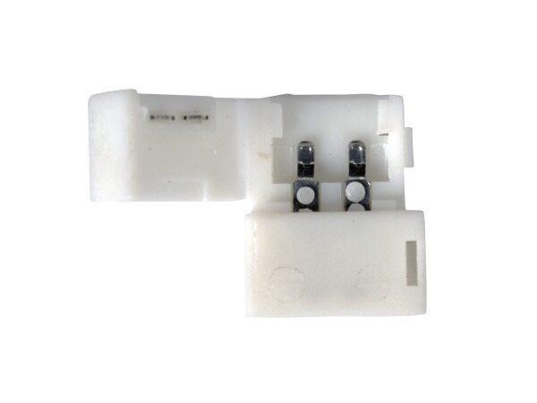 LED 2A / Соединитель электрический Коннектор для одноцветной светодиодной ленты 5050 жесткий (10pkt)