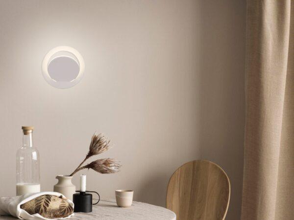 MRL LED 1010 / Светильник настенный светодиодный Alero белый