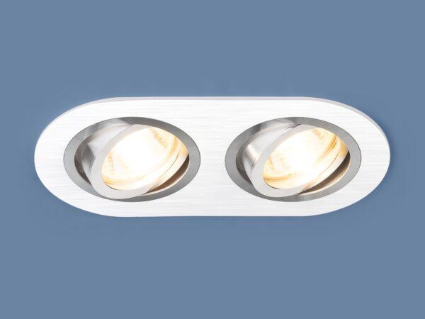 1061/2 / Светильник встраиваемый MR16 WH белый