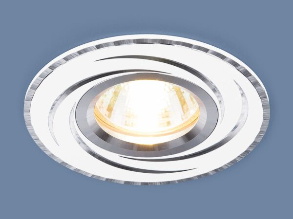 2002 MR16 WH / Светильник встраиваемый белый