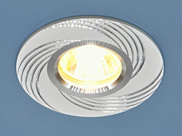 5156 MR16 / Светильник встраиваемый WH белый