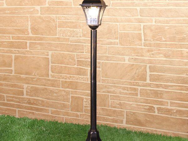 GL 1009F / Светильник садово-парковый Apus F черное золото (GL 1009F)