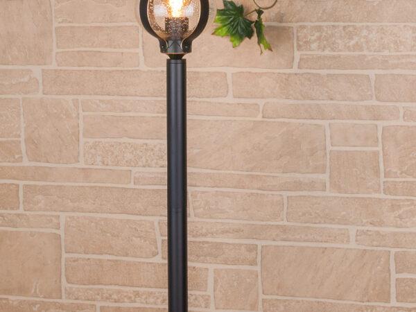 GL 1025F / Светильник садово-парковый Barrel F черное золото