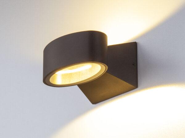 1549 TECHNO LED / Светильник садово-парковый со светодиодами BLINC черный