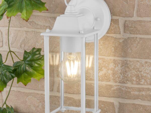 GL 1008D / Светильник садово-парковый BRICK белый