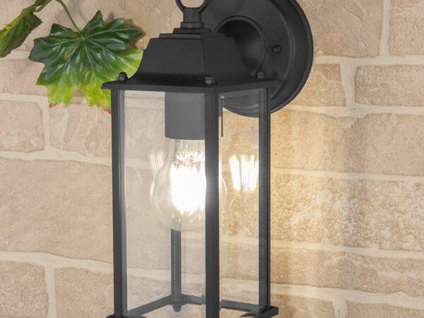 GL 1008D / Светильник садово-парковый BRICK черный