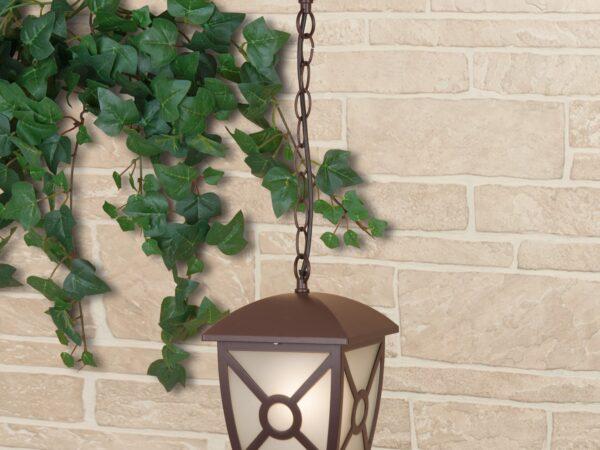 GL 1022H / Светильник садово-парковый Columba H коричневый (GL 1022H)