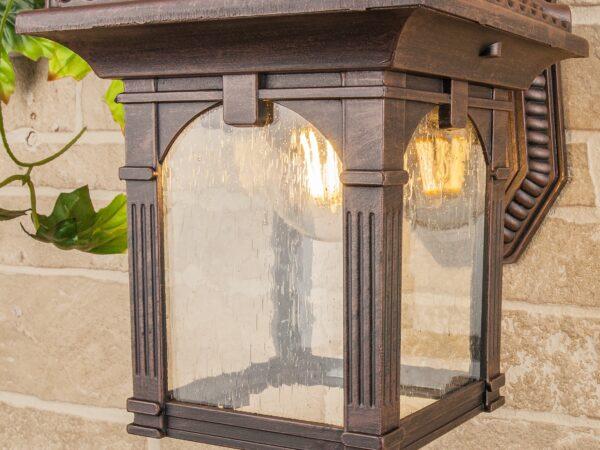 GL 1021D / Светильник садово-парковый Corvus D капучино (GL 1021D)