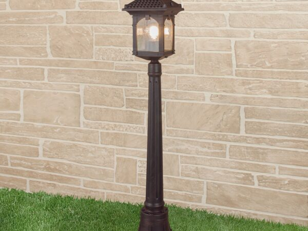 GL 1021F / Светильник садово-парковый Corvus F капучино (GL 1021F)