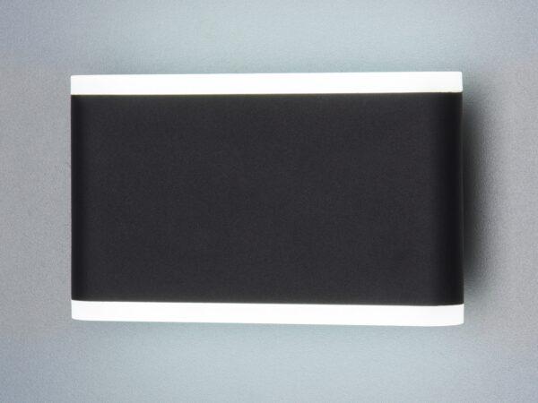 1505 TECHNO LED/ Светильник садово-парковый со светодиодами COVER чёрный