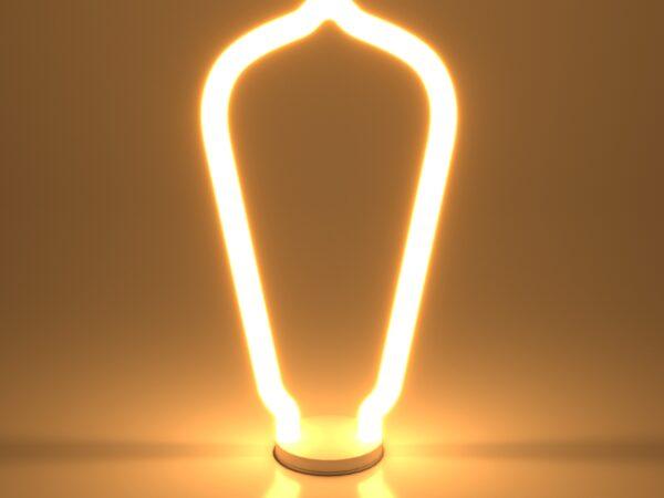 BL158 / Светодиодная лампа Decor filamet 4W 2700K E27 ST64 белый матовый