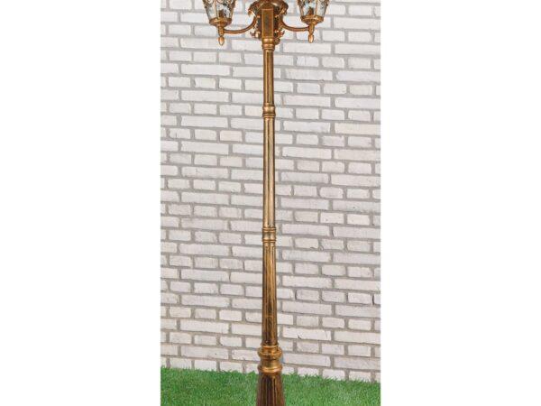 GLYF-8046F/3 / Светильник садово-парковый черное золото
