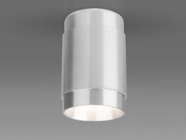 DLN109 GU10 / Светильник накладной серебро