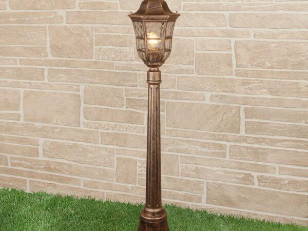 GL 1013F / Светильник садово-парковый Dorado F черное золото (GL 1013F)