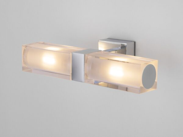 1228 AL14 / Светильник настенный Duplex 2x28W хром