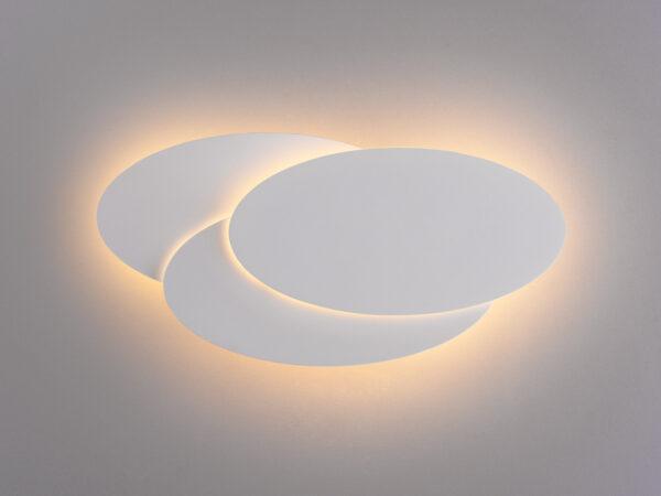 MRL LED 12W 1014 IP20 / Светильник настенный светодиодный Elips LED белый матовый