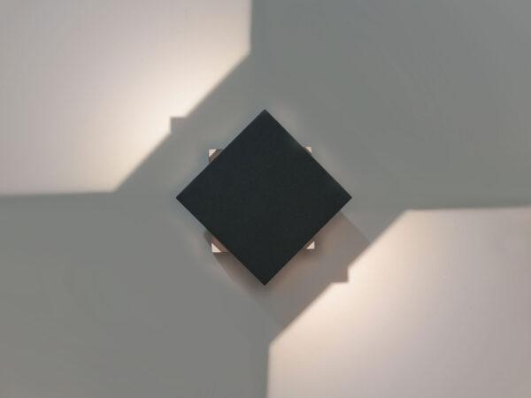 1607 TECHNO LED / Светильник садово-парковый со светодиодами графит FOBOS