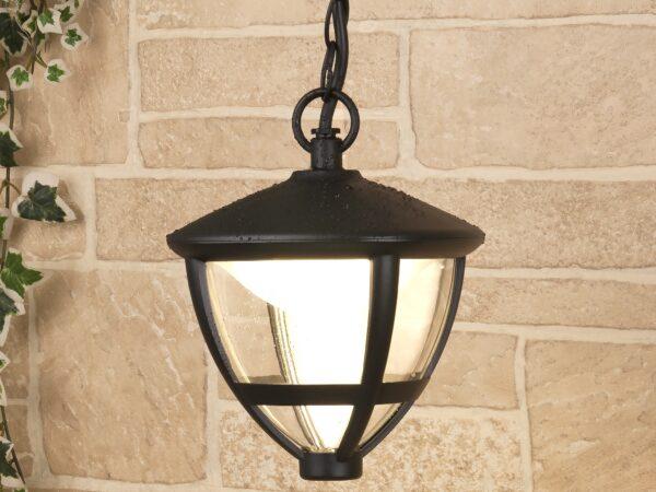 GL LED 3001H / Светильник садово-парковый со светодиодами Gala H черный (GL LED 3001H)