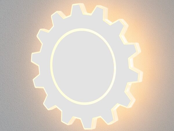 MRL LED 1100 / Светильник настенный светодиодный Gear L LED белый