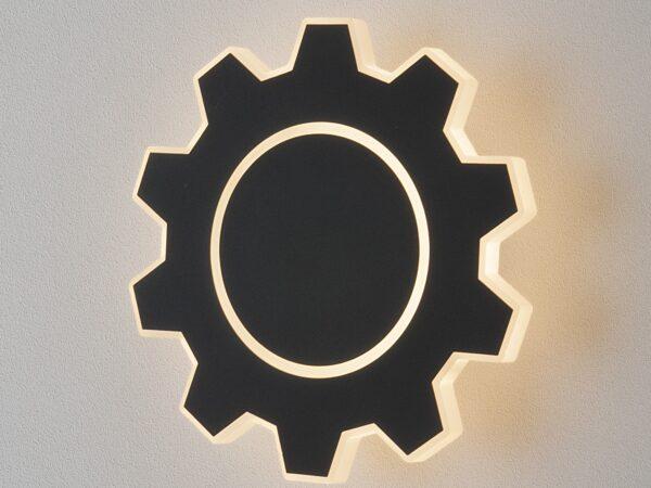 MRL LED 1095 / Светильник настенный светодиодный Gear M LED черный