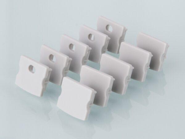 ZLL-2-ALP001-R / Лента светодиодная Заглушки для накладного алюм.профиля для LED ленты (15mm) (компл. 10 пар)