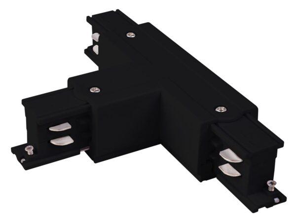 TRC-1-3-TL-BK / Соединитель электрический Коннектор Т-образный для трехфазного шинопровода левый (черный) /
