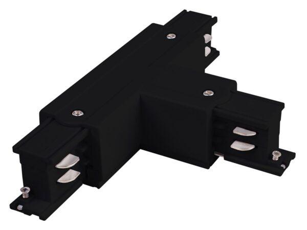 TRC-1-3-TR-BK / Соединитель электрический Коннектор Т-образный для трехфазного шинопровода правый (черный) /