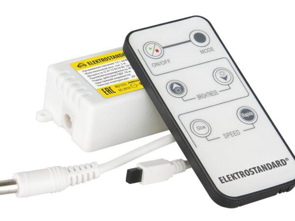 LSC 003 DC12V-08A IP42 / Контроллер для осветительного оборудования Контроллер одноцветный с ИК пультом (6 кнопок) LSC 003 12V