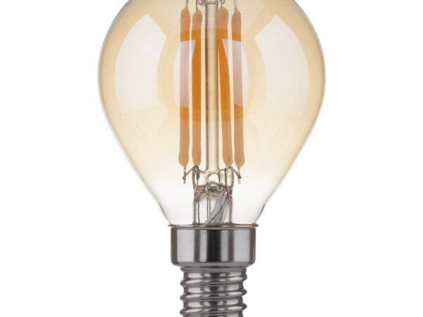 Classic F 6W 3300K E14/Светодиодная лампа Mini Classic F 6W 3300K E14 (G45 тонированный)